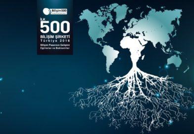 Türkiye'nin İlk 500 Bilişim Şirketi Açıklandı